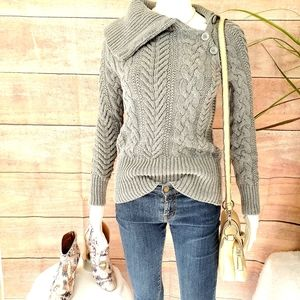 Victoria's Secret Moda International cable sweater